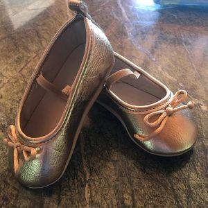 Baby girls Gold Shoes
